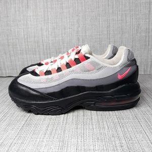 Nike Air Max 95 Grey Pink Athletic Shoes Sz 3Y